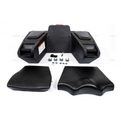 Coffre arrière KIMPEX Deluxe quad noir 92L
