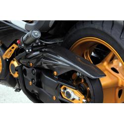 Carter de courroie LIGHTECH carbone brillant Yamaha T-Max 530
