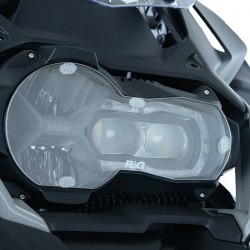Ecran de protection feu avant R&G RACING translucide BMW R1200GS