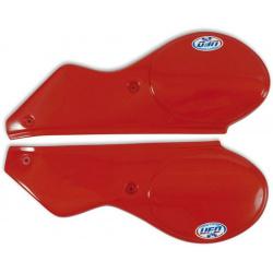 Plaques latérales UFO rouge Maico