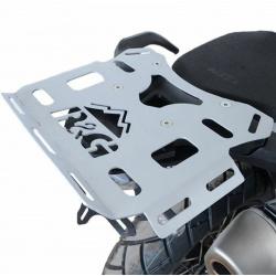 Porte-bagage R&G RACING Adventure argent KTM