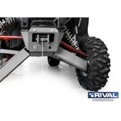 Support de treuil RIVAL - Polaris RZR XP1000/Turbo