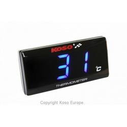 Indicateur de température KOSO Super Slim Style universel