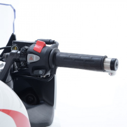 Poignées chauffantes R&G RACING interrupteur guidon 22mm Clip-on