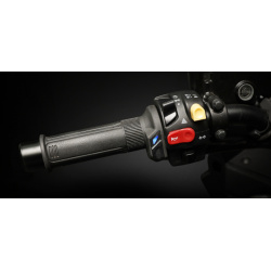 Poignées chauffantes KOSO HG-13 switch integré 130mm