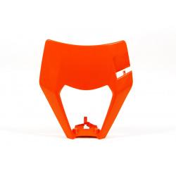 Plastique de plaque phare RACETECH orange KTM EXC