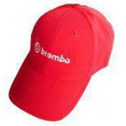 Casquette BREMBO - rouge