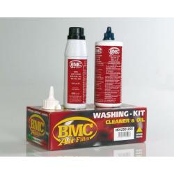 Kit d'entretien nettoyant et bouteille d'huile BMC - flacon 500ml + 250ml