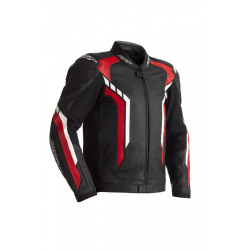 Blouson RST Axis CE cuir - rouge taille M
