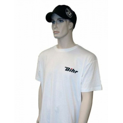 T-shirt BIHR Blanc 150g coton - taille XL
