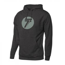Sweat Seven Dot Charcoal Heather S