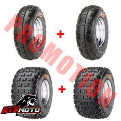 Pack de 4 pneus maxxis RAZR